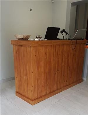 Reception Counter Farmhouse series 1800 Stained