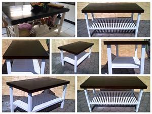 Kitchen Island Farmhouse series 1600 Extra width 2 Tone