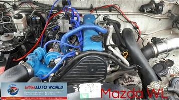 MAZDA B 2500 2.5L  DIESEL,WL engines