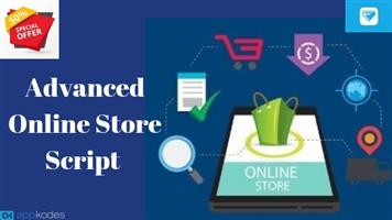 50% Off On Advanced Online Store Script For Ecommerce Business