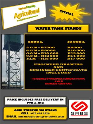 SPECIAL on Jo Jo Water stands/Water tank stands