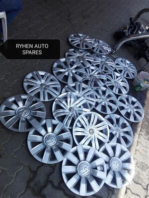 Original Vw and Toyota Avanza wheel covers