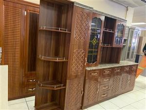4pcs kitchen unit with cornor