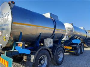 316 Stainless steel tanker