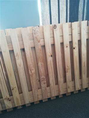 New wooden decks for racking