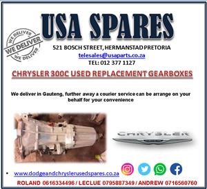 CHRYSLER 300C USED REPLACEMENT GEARBOXES