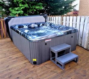 Point Pleasant Jacuzzi 5 Person Spa Hot Tub With Delivery & Installation