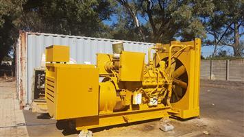 600 Kva Caterpillar generator  3412 B