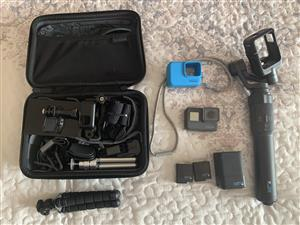 GoPro Hero 5, Karma grip and accessories