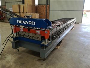 New Revaro Single Layer IBR Roof Sheeting Machine