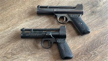 Air rifle pistols webley