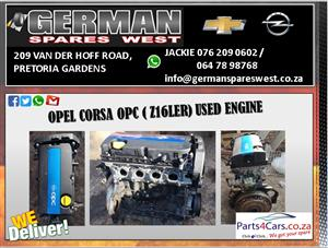 OPEL CORSA OPC 1.6 ( Z16LER) USED ENGINE FOR SALE