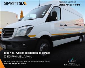 2015 Mercedes Benz Sprinter