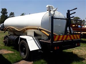 8000L Draw bar water tanker with motor and Sprayers