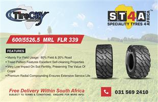 Tyre Sale in Cape Town:  Forklift tyres, TLB, OTR & Tractor Tyres & more