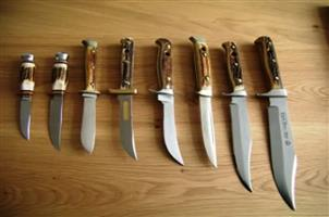 Wanted - Knives by Chris Reeve, Piet Grey, Arbuckle, Puma, Al Mar etc
