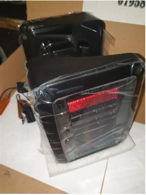 WRANGLER LED TAIL LAMPS NEW (FOR SALE)