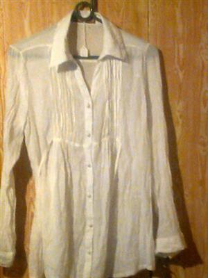 White long sleeve blouse for sale