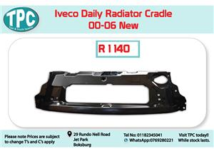 Iveco Daily Radiator Cradle 00-06 New for Sale at TPC