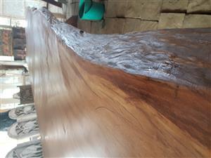 Giant slab table