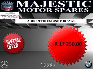 Audi 1.9 TDI engine for sale