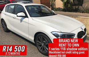2018 BMW 1 Series 118i 5 door Edition Sport Line Shadow auto