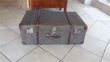Large suitcase with trunk like appearance