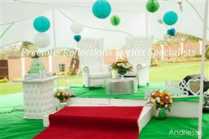Event decor, wedding planning, kids parties, showers, catering equipment and events equipments hire