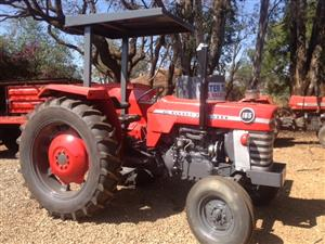 S3389 Red Massey Ferguson (MF) 165  2x4 Pre-Owned Tractor