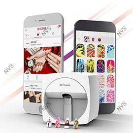 mobile nail art printer