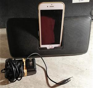 iPhone portable docking station