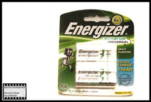 Energizer Recharge Universal 1400mAh AA Batteries