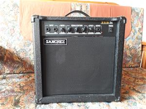 Amplifier  A 25 --25 watt Sanchez