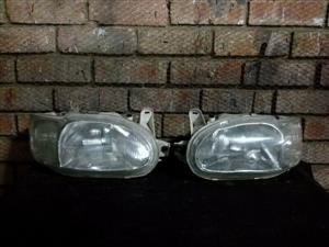 Ford Escort Zetec Headlights