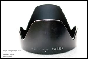 EW-78B II Lens Hood for Canon