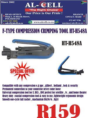 Press Crimper For Compression Connectors F HT-H548A1