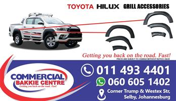toyota hilux arch kit set