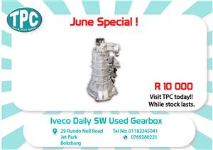 Iveco SW Used Gearbox for Sale at TPC