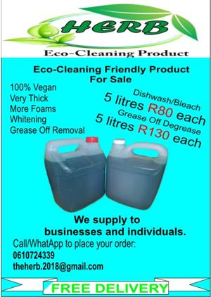 Cleaning Product For Sale