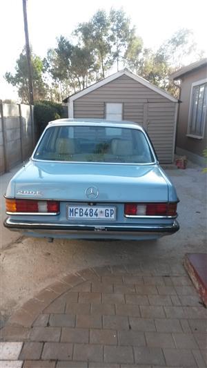 1986 Mercedes Benz 280E