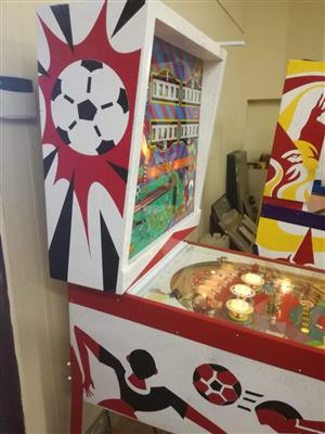 Super Soccer by Gottlieb. A 4 player pinball machine , fully restored and serviced
