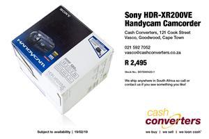 Sony HDR-XR200VE Handycam Camcorder