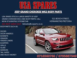 JEEP GRAND CHEROKEE WK2 BODY PARTS FOR SALE- CALL NOW