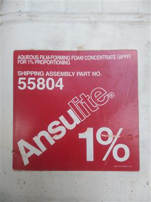 Ansulite 1% aqueous film-forming foam concentrate(AFFF)