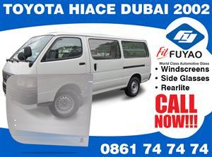 Brand new sidedoor glass for sale for Toyota Hiace Dubai 2002- models #39701