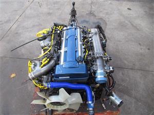 Toyota Supra 2JZ GTE Twin Turbo Engine 6 Speed V161 GETRAG Transmission 2JZ