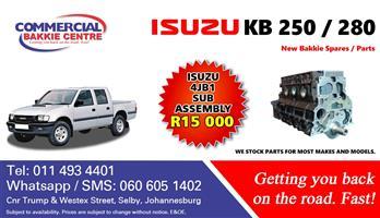 isuzu 4jb1 sub assembley