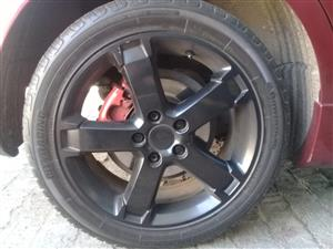 "Ford Focus 17"" Mags"