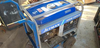 Getman 4.8 (5kva) generator - petrol 4 stroke generator