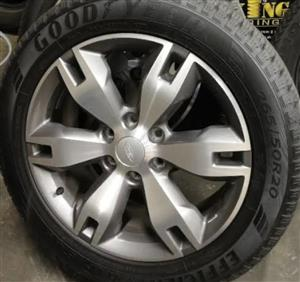 Ford Everest Limited 20inch Mags